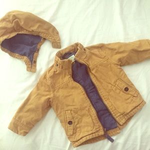 Baby Coat/Jacket 12 Month Removable Hood